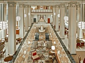 Hilton Garden Inn Phoenix Downtown Lobby