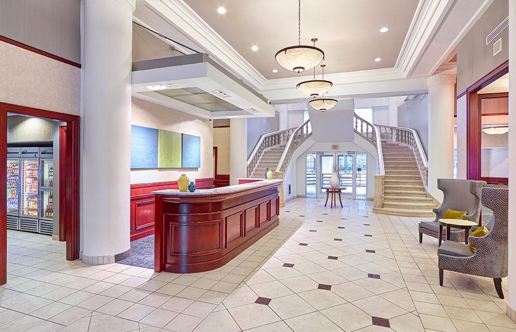 Residence Inn Milwaukee Downtown Lobby
